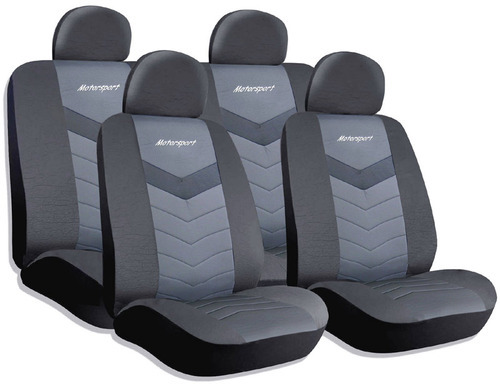 Scorpio Car Seat Cover, Fabric Car Seat Cover - KVD Autozone, Delhi