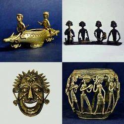 Dhokra - Bell Metal - Handmade Human Sculptures
