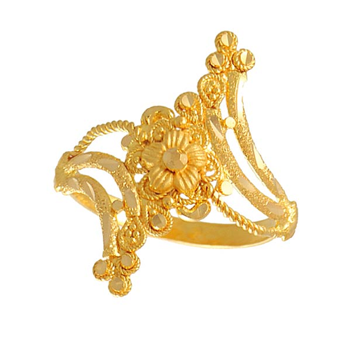 blooming designs gold rings articles design designer fabulous finger flower ring in