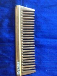 7 Inch Natural Wood Comb