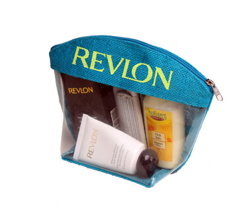 PVC Front Cosmetic Bag