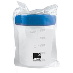 Radiation Sterile Sample Containers