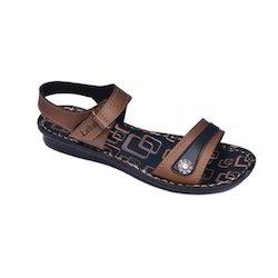 Lehar Flat Heel PU Floaters
