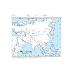 Europe Political Outline Map | United Publication | Manufacturer in