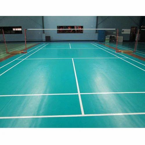 Badminton Court Construction Service Badminton Court