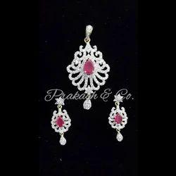 American Diamond Designer Pendants Sets