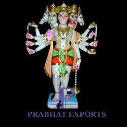 Panchmuki Hanuman Marble Statue