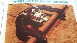 Hydraulic Rail Bender