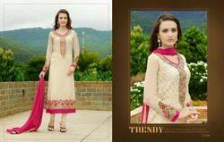 Floral Cotton Salwar Kameez