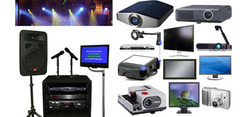 All Kinds Of Audio Visuals Equipments On Rentals
