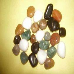 Colored Polished Pebble
