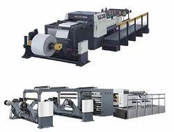 High Speed Multi Roll Sheeter Machine