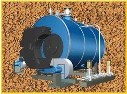 Husk Fired IBR Steam Boiler