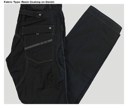 Resin Coating Denim Fabric