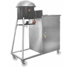 Silver Stainless Steel Roomali Roti Trolley, For Restaurant