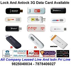 3g Data Card Internet Connection