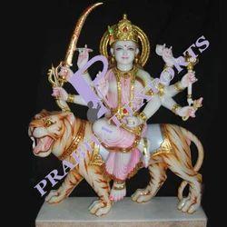 Makrana Marble Durga Mata Statue