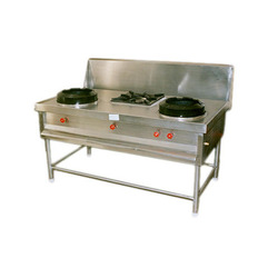 3 Burner Chinese Cooking Range