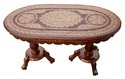 A S & Sons International Oval Shape Wooden Coffee Table, For Home