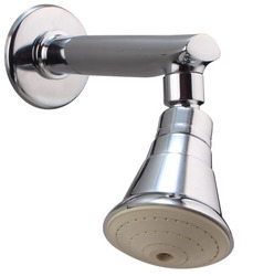 Polo White Shower in Brass