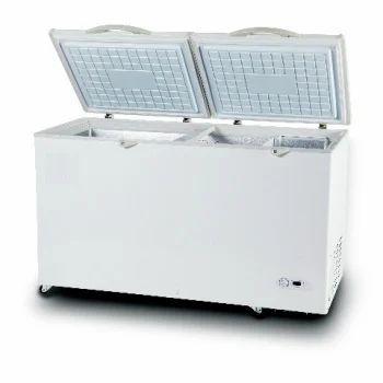Freezers Equipment Double Door Deep Freezer Manufacturer