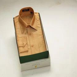 Golden Silk Shirt