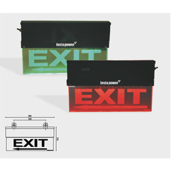 Edge Lit Signage Double Sided