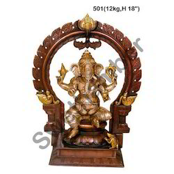 Brass Ganesha Statues