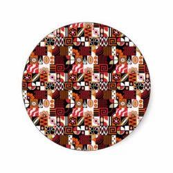 Potpourri Round Sticker