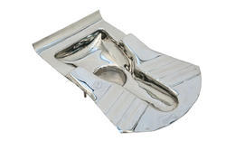 Open Front Ivory Stainless Steel Lavatory Pan, Size/Dimension: Standard, for Bathroom Fitting