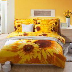 Sandex Corp Patchwork Printed Bedding Set