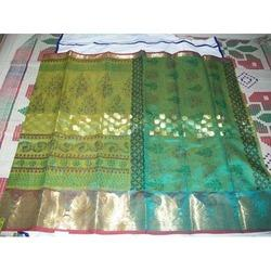 Super Net Printed Saree