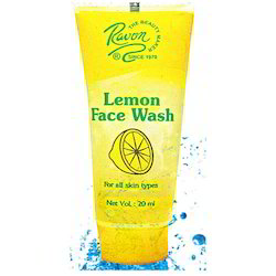 Ravon Lemon Face Wash for Personal/Parlour
