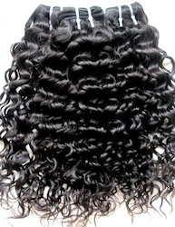Virgin Natural Curly Hair Weft