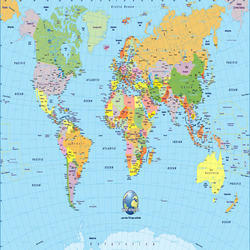 India map political at rs 100 piece political state maps id world map gumiabroncs Choice Image