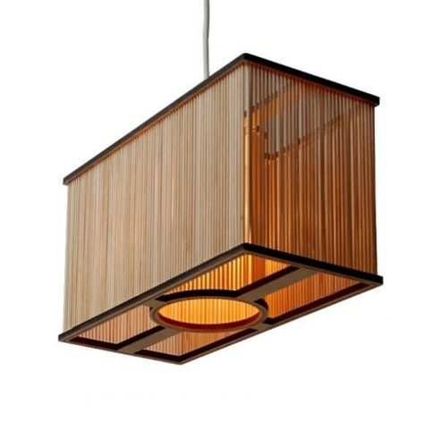 wooden hanging lamp - Hanging Lamp Shades