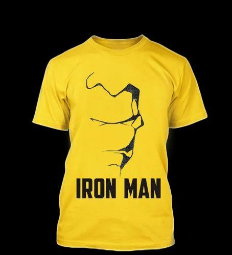 iron man t shirt round neck tees. Black Bedroom Furniture Sets. Home Design Ideas