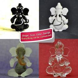 Glass Ganesha Statues for Wedding Gifts Favors - Custom Packing