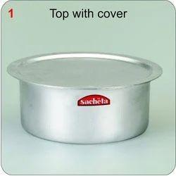 Aluminium Tope with Cover