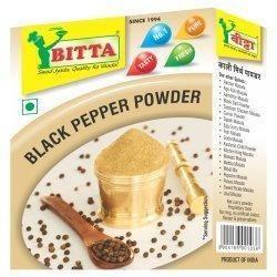 Natural BITTA Black Pepper Powder, 50g