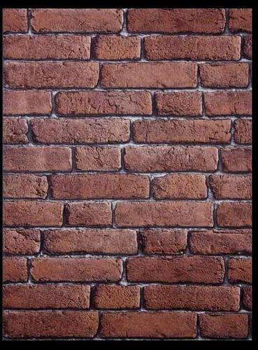 Red Brick Wallpaper 3D