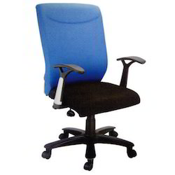 Blue andBlack Workstation Chair, For Office