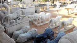 Marble Handicraft Statues