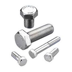 Stainless Steel Bolt, Material Grade: 304 & 316, Size: M3 To M36