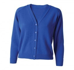 ed86fda565154 5 Colors SP MODA Sleeveless Self Knit Ladies Cardigans