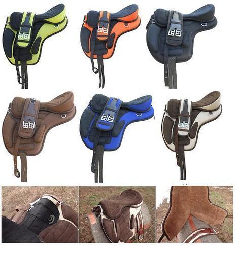 English Pony Treeless Saddle - View Specifications & Details of