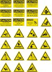 Machine Safety Stickers
