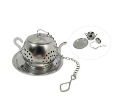 Tea Infuser Made of Stainless Steel in Kettle Shape