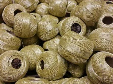Metallic Crochet Yarn - View Specifications & Details of