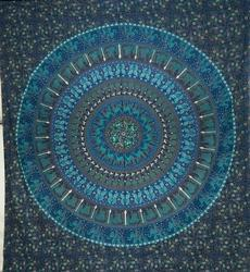 Kavita Prints Mandala Designer Tapestry Wall Hanging, Size(cm): Upto 250 X 280